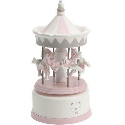 Carrousel musical BB rose   par Amadeus