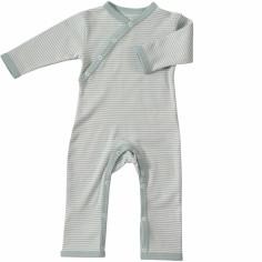 Combinaison Stripe Blue (6-12 mois : 77 cm)