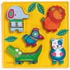 Puzzle Junga (5 pièces) - Djeco