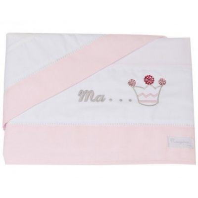 Parure de lit drap + taie d'oreiller Princesse (120 x 180 cm)  par Nougatine