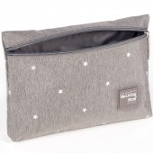 Trousse de toilette Gaby gris - Walking Mum