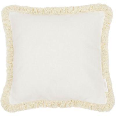Coussin carré frange Boho (40 x 40 cm)  par Cotton&Sweets