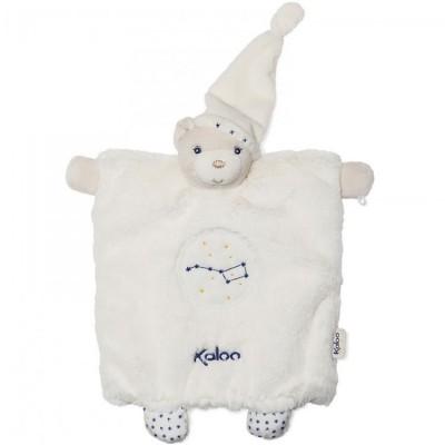 Doudou marionnette Petite étoile ourson  par Kaloo