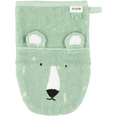 Gant de toilette ours Mr. Polar Bear  par Trixie