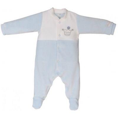 Pyjama chaud Prince bleu (1 mois)  par Nougatine