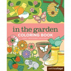 Livre de coloriage Jardin  (36 pages)