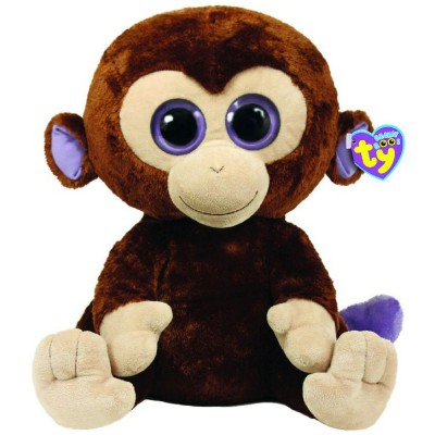Peluche Beanie Boo's Coconut le singe (41 cm) Ty