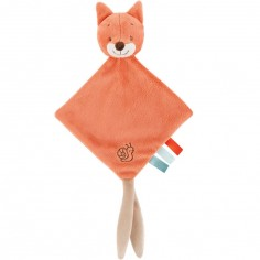 Mini doudou Oscar le renard