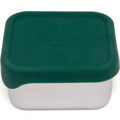Lunchbox en acier inoxydable Mae vert pin