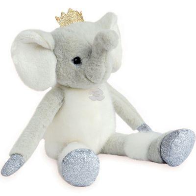 Peluche Elfy l'éléphant Happy Family (35 cm) Histoire d'Ours