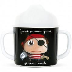 Tasse à bec Quand je serai grand je serai pirate
