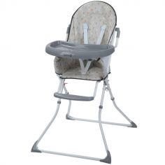 Chaise haute pliante Kanji Warm Grey
