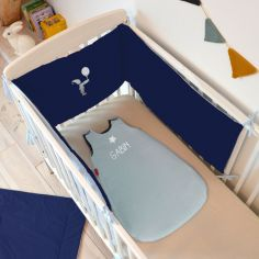 Tour De Lit Bleu Marine : tour de lit pour bb berceau magique ~ Teatrodelosmanantiales.com Idées de Décoration