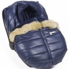 Housse et couvre-jambes pour siège auto groupe 0 Aspen bleu