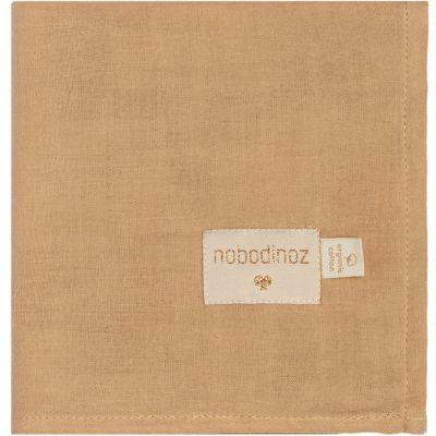 Lange en coton bio Baby Love Nude (70 x 70 cm)  par Nobodinoz