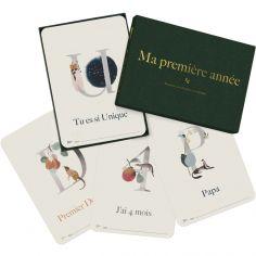 Cartes photos souvenirs Ma première année Luxe ABC (40 cartes)