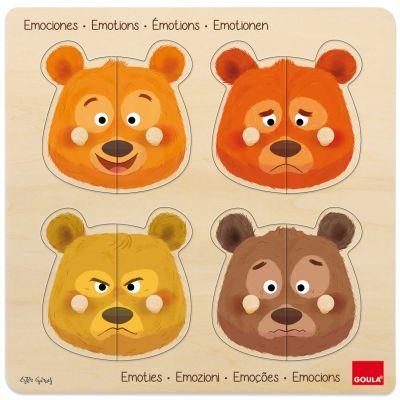 Puzzle à encastrement Émotions (8 pièces)