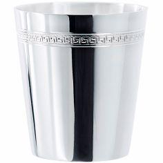 Timbale Grecque personnalisable (métal argenté)