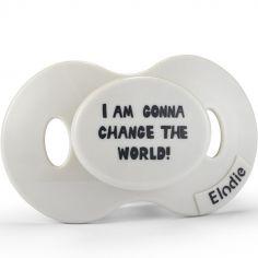 Sucette physiologique Change The World (3 mois et +)