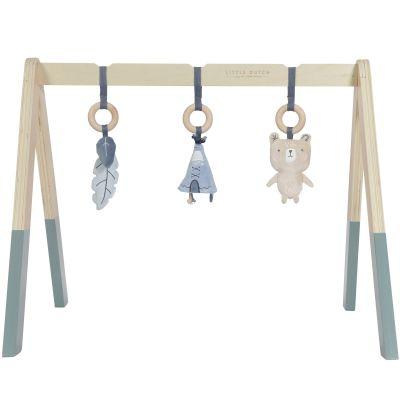 Arche de jeux en bois bleue  par Little Dutch