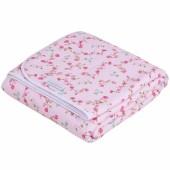Couverture bébé pure and soft Pink blossom (70 x 100 cm) - Little Dutch