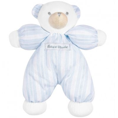 Peluche ours bleu Collection 1977 (25 cm)  par Tartine et Chocolat
