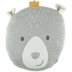 Coussin tête d'ours Timeless (40 cm)