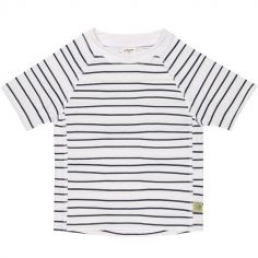 Tee-shirt anti-UV manches courtes Marin bleu (18 mois)