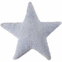 Coussin étoile bleu (50 x 50 cm)