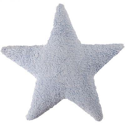 Coussin étoile bleu (50 x 50 cm)  par Lorena Canals