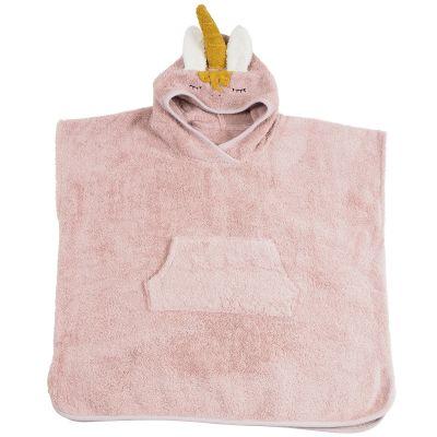 Poncho de bain Licorne rose  par Kikadu
