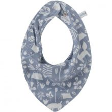 Bavoir bandana Adventure blue  par Little Dutch