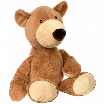 Peluche géante ours Patchwork Sweety (80 cm) Sigikid