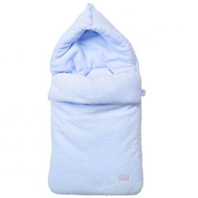Nid d'ange passe sangle Beryl bleu (70 cm)  par Nougatine