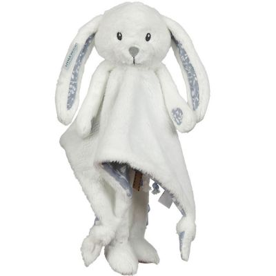 Peluche lapin Adventure blue (33 x 33 cm)  par Little Dutch