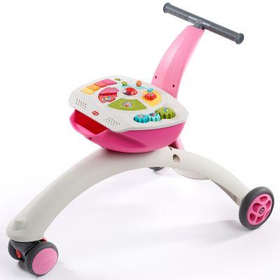 Chariot de marche évolutif 5 en 1 Tiny Rider rose Tiny Love