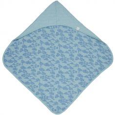 Cape de bain Bubbler Solid  Ocean bleu (90 x 90 cm)