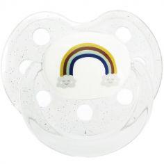 Sucette bébé physiologique Rainbow Arc-en-ciel (6 mois et +)