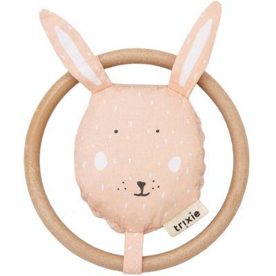 Hochet anneau lapin Mrs. Rabbit  par Trixie