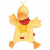 Marionnette doudou canard jaune (25 cm) - Sigikid