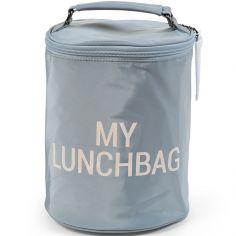 Sac isotherme My lunchbag gris et écru