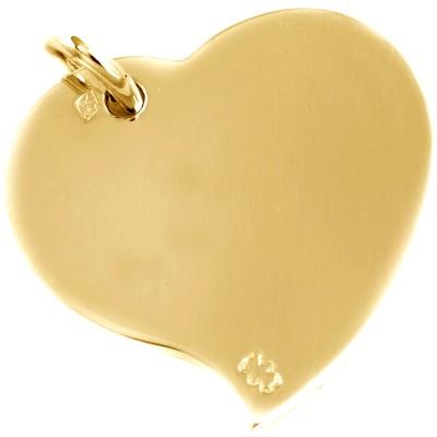 Pendentif coeur 20 mm (or jaune 750°)  par Loupidou