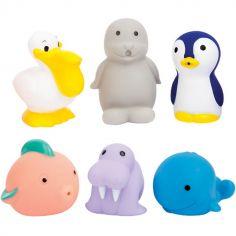 Coffret jouets de bain explorer (6 pièces)