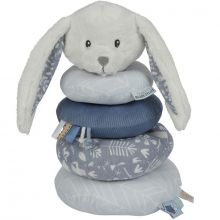 Pyramide lapin en peluche Adventure blue  par Little Dutch
