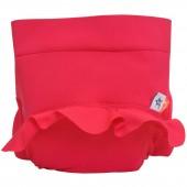 Maillot de bain bébé avec absorbant de baignade rose framboise (4 à 8 kg) - Hamac Paris