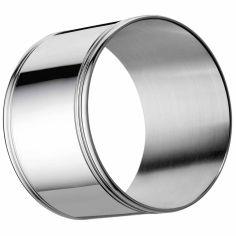 Rond de serviette Albi (métal argenté)