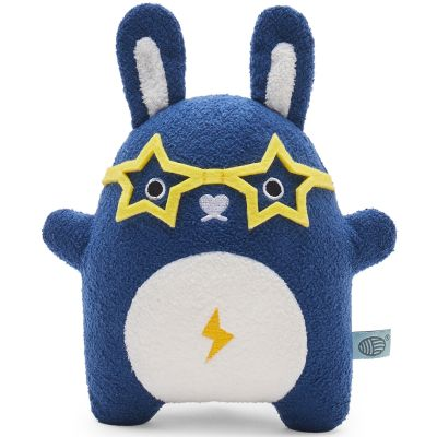 Peluche lapin fusée Ricejagger bleu (19 cm) Noodoll