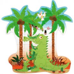 Puzzle Crocodile (36 pièces)