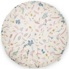 Coussin rond Pressed Leaves (40 cm)