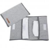 Pochette de change Grey melange (31 x 25 cm) - Little Dutch
